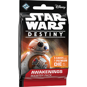 STAR WARS DESTINY AWAKENINGS BOOSTER PACK (星球大战:命运 觉醒 补充包)
