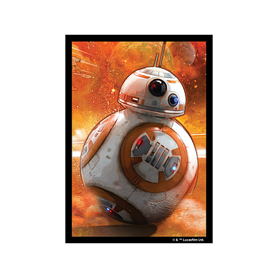 STAR WARS ART SLEEVES: BB-8 EN (星球大战牌套:BB-8 英文版)