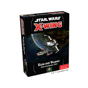 STAR WARS X-WING 2ND EDITION: SCUM AND VILLAINY CONVERSION KIT (星球大战 X翼战机 2.0:恶棍转换套件)