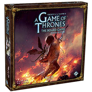 A GAME OF THRONES BOARD GAME: 2ND EDITION: MOTHER OF DRAGONS EXPANSION (权力的游戏 版图版 第二版:龙之母 扩展)