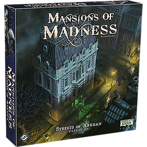 MANSION OF MADNESS: STREETS OF ARKHAM EN (疯狂诡宅:诡镇街道 英文版)