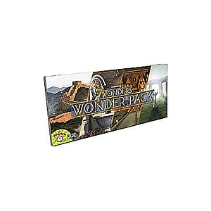 7 WONDERS: WONDER PACK EXPANSION EN (七大奇迹:奇迹包 英文版)