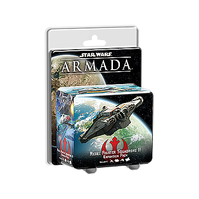 STAR WARS ARMADA: REBEL FIGHTER SQUADRONS II EXPANSION PACK EN (星球大战 无敌舰队:反抗军战斗机中队II 英文版)
