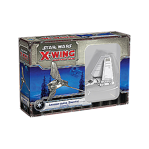 STAR WARS X-WING: LAMBDA-CLASS SHUTTLE EXPANSION PACK EN (星球大战 X翼战机:兰巴运输机 英文版)