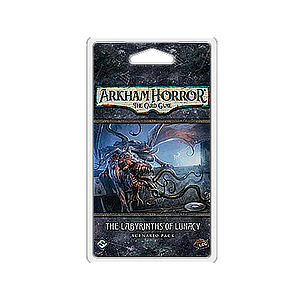 ARKHAM HORROR LCG: THE LABYRINTHS OF LUNACY EN (诡镇奇谈卡牌版:癫狂迷宫 英文版)