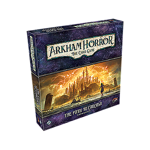 ARKHAM HORROR LCG: PATH TO CARCOSA DELUXE (诡镇奇谈卡牌版:卡尔克萨之路 豪华扩)