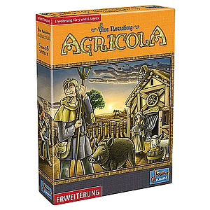AGRICOLA: EXPANSION FOR 5 AND 6 PLAYERS EN (农场主:5-6人扩展 英文版)