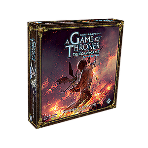 A GAME OF THRONES BOARD GAME 2ND EDITION MOTHER OF DRAGONS EXPANSION EN