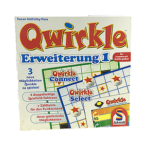 QWIRKLE EXPANSION-SCHMIDT SPEILE VERSION EN (德国版扣扣棋扩展包)