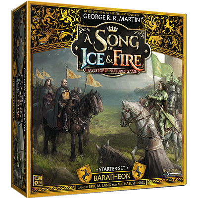 A SONG OF ICE & FIRE TABLETOP MINIATURES GAME: BARATHEON STARTER SET EN (冰与火之歌:拜拉席恩入门套装 英文版)