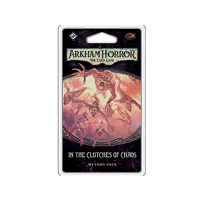 ARKHAM HORROR LCG: IN THE CLUTCHES OF CHAOS EN (诡镇奇谈卡牌版:混沌魔掌 英文版)